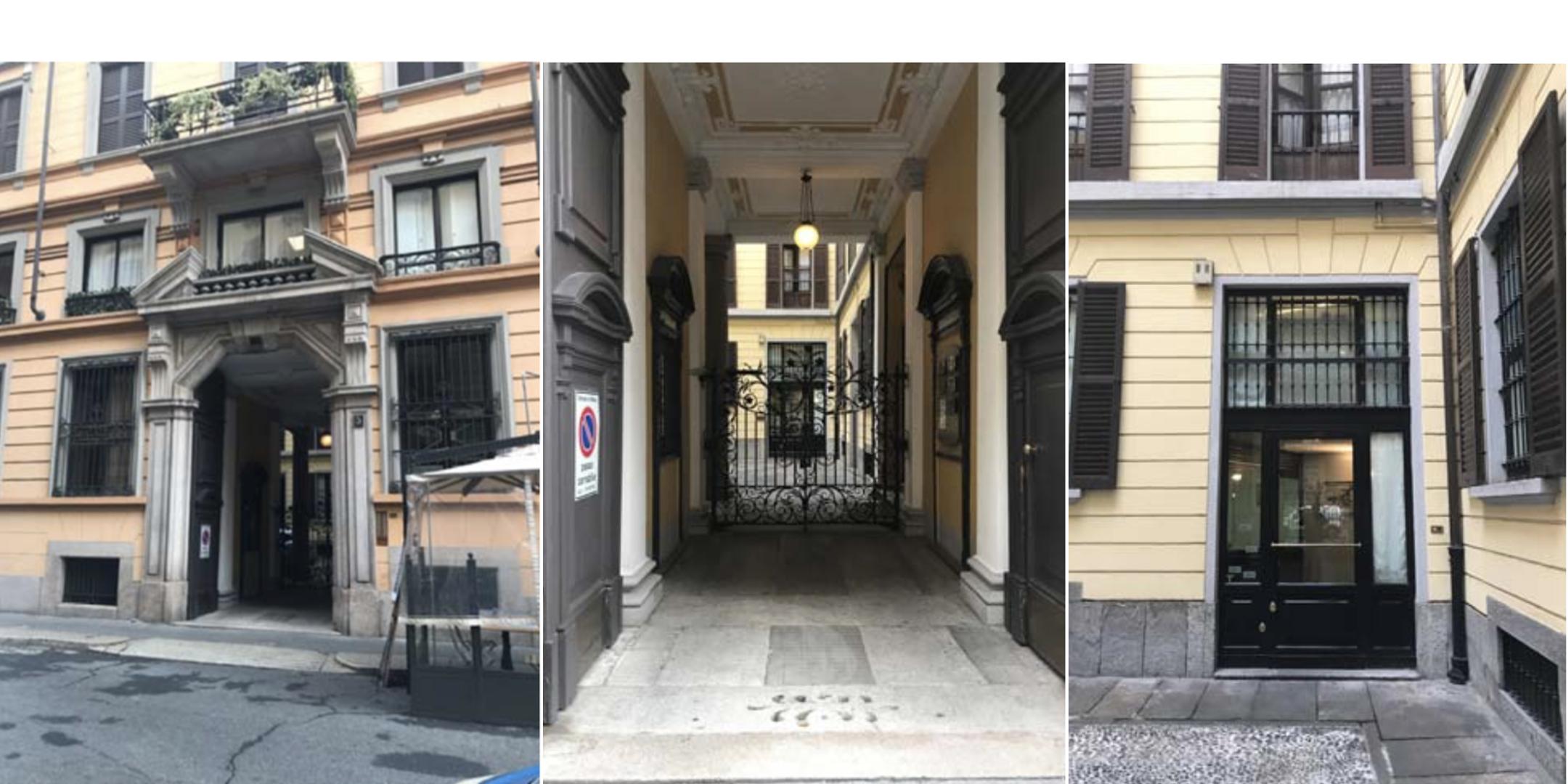 Milano Via Dante